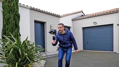 Tournage d'une vidéo maison nantes