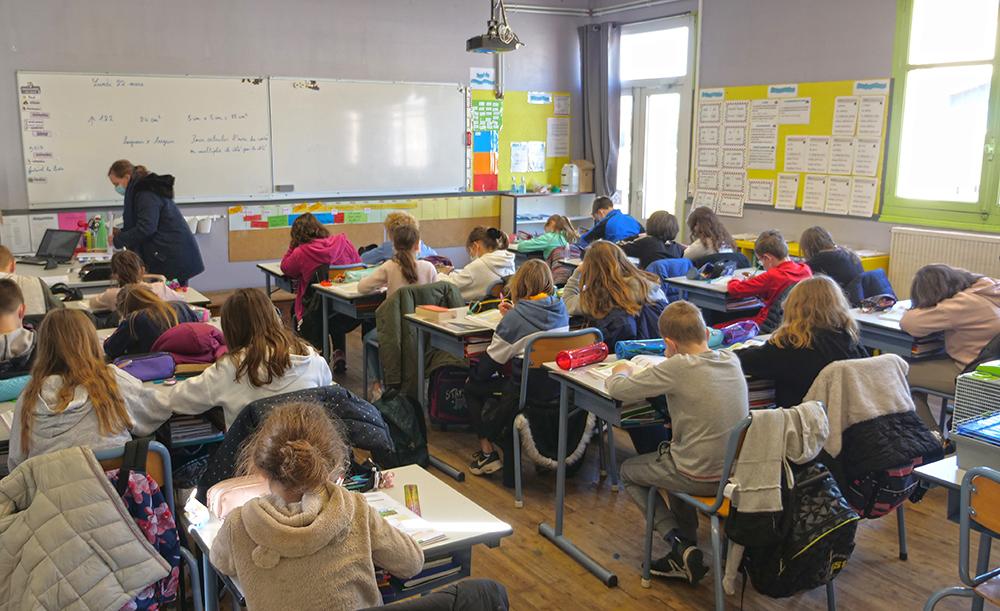Film école primaire cour CM2