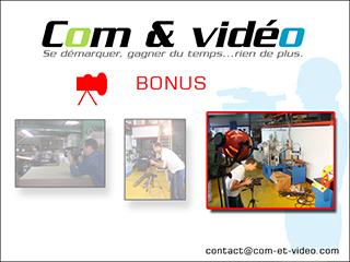 Com & Vidéo, entreprise montée en 2004
